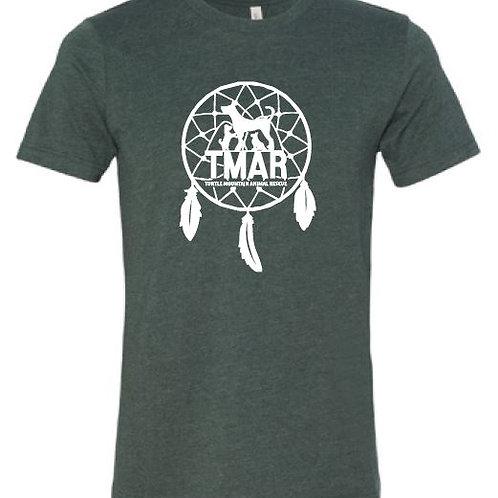Dream Catcher TMAR Logo T-Shirt - Heather Forest Green