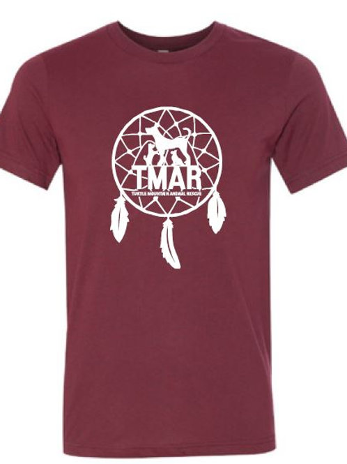 Dream Catcher TMAR Logo T-Shirt - Maroon