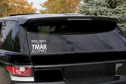 """TMAR """"Proud Parent"""" Car Decal"""