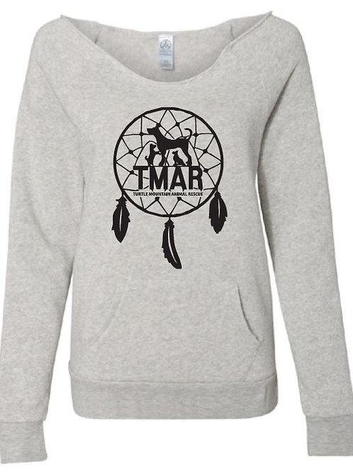 Ladies TMAR Dreamcatcher Logo Sweatshirt - Heather Grey