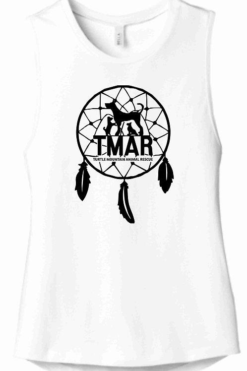 TMAR Logo Ladies Tank - White