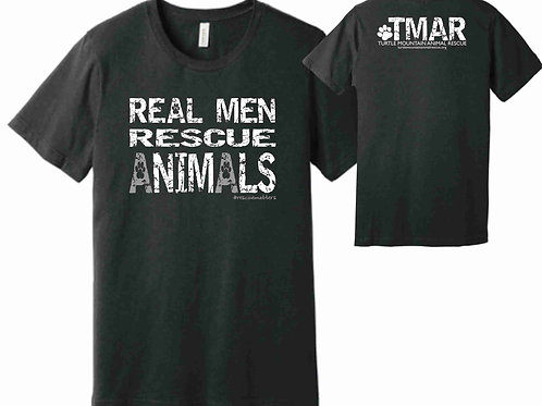Real Men Rescue Animals T-Shirt