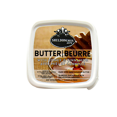 Butter with Honey and Cinnamon