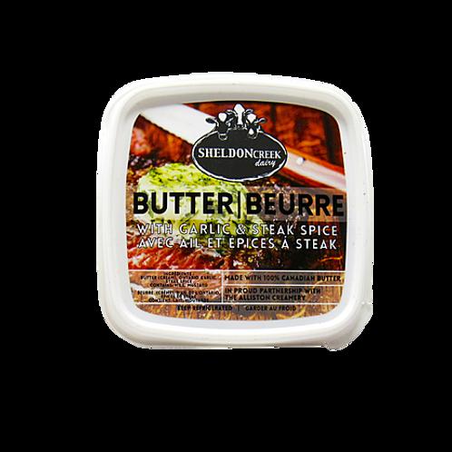 Butter w/ Garlic & Steak Spice