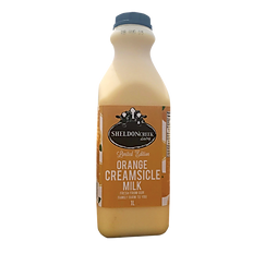 Orange Creamsicle Milk