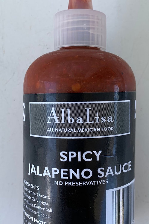 Alba Lisa Spicy Jalapeno Sauce