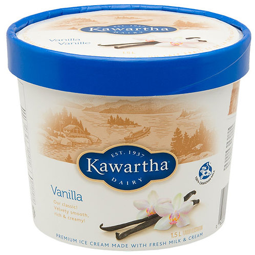Kawartha Ice Cream 1.5L