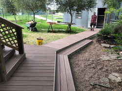 Custom Trex Decking & Walkway
