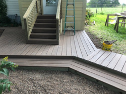 Custom Trex Decking & Walkway