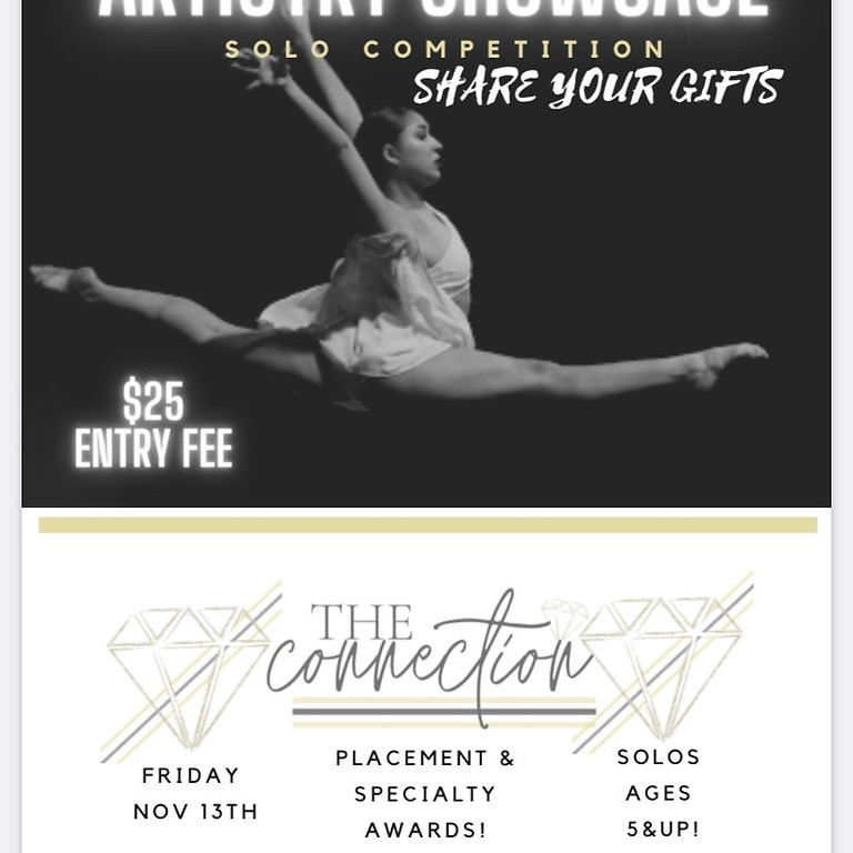 Artistry Showcase & Competition Solos