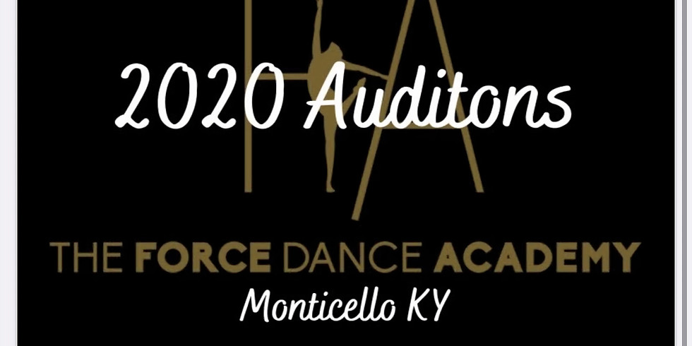 20/21 COMPETITOR AUDITIONS MONTICELLO KY