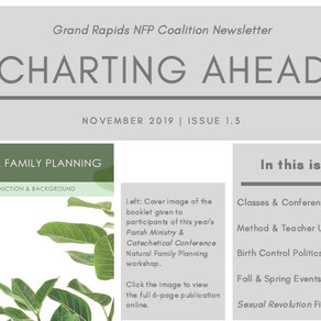 Charting Ahead Newsletter - Nov 2019