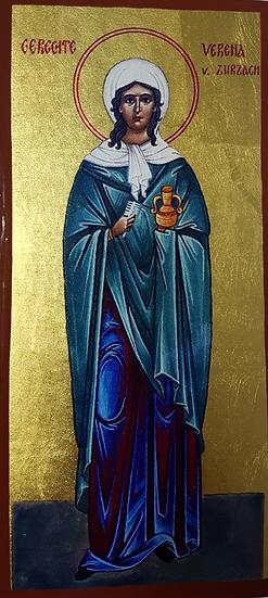 Ikone der Gerechten Verena