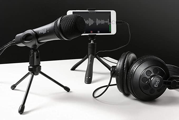 Ik multimedia irig mic hd 2 smartphone podcast microphone