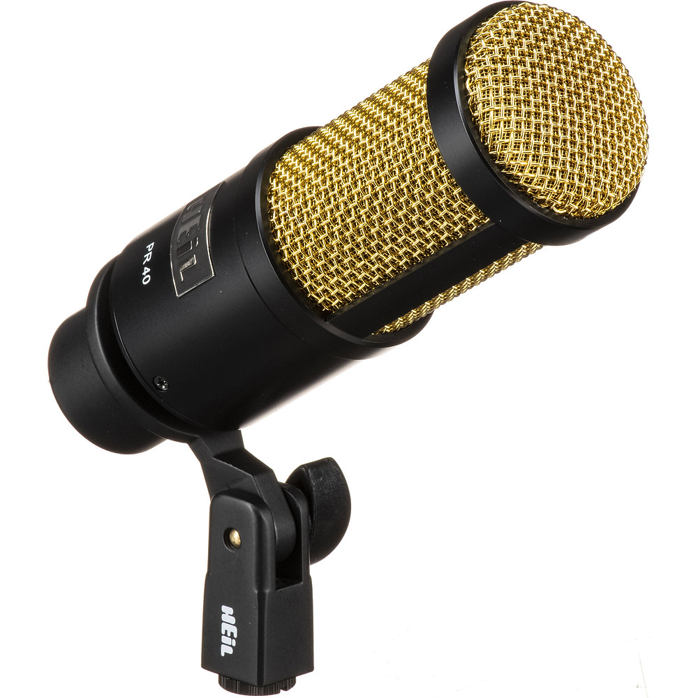 Heil pr-40 microphone for podcasting