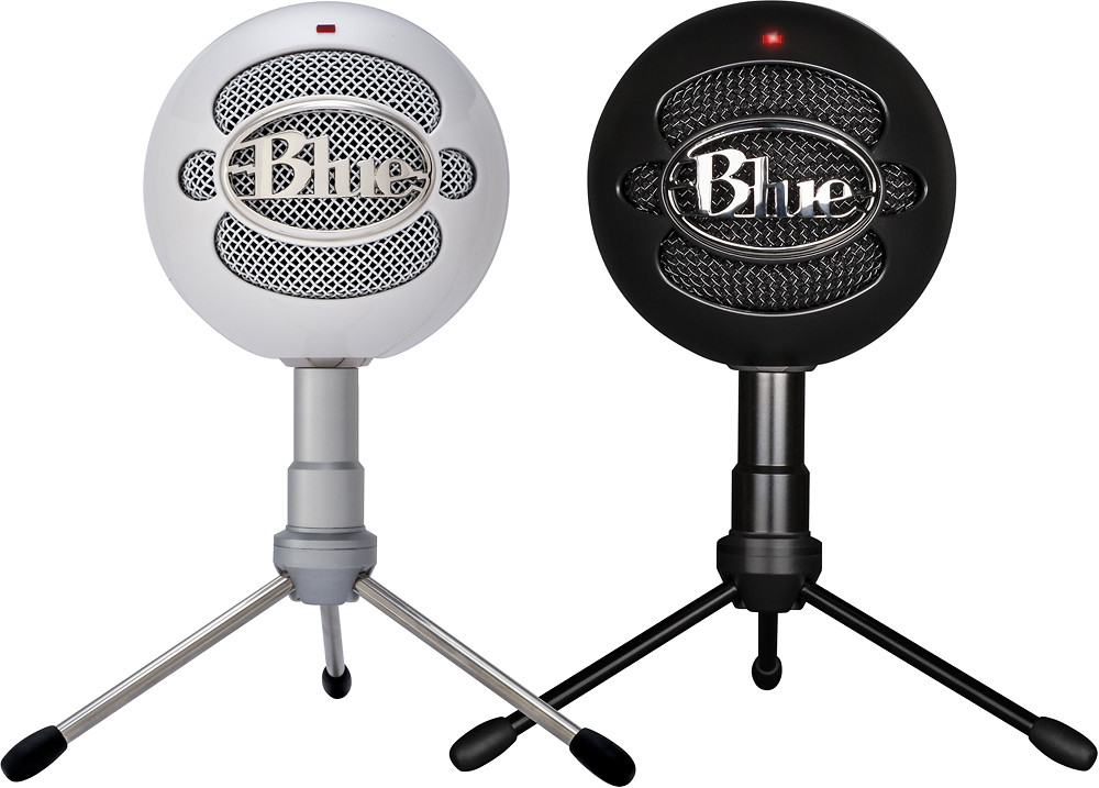 Blue Snowball Microphone for podcast