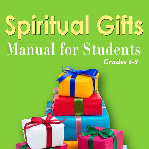 Spiritual Gifts Manual for Students