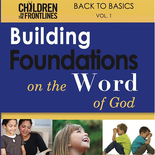Building Foundations on the Word of God BOOK