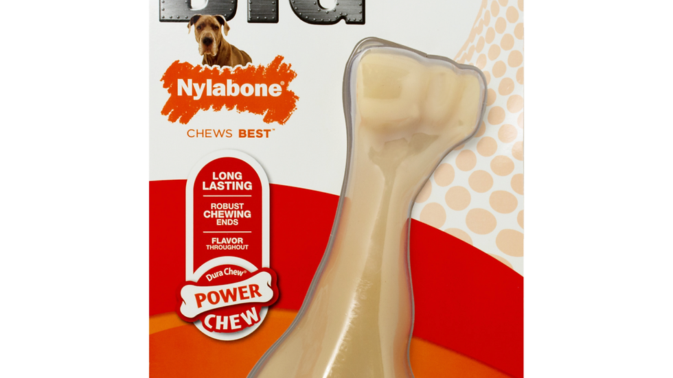 Nylabone BIG Power Chew with Chewing Ends Chicken Flavor- up to 50 lbs