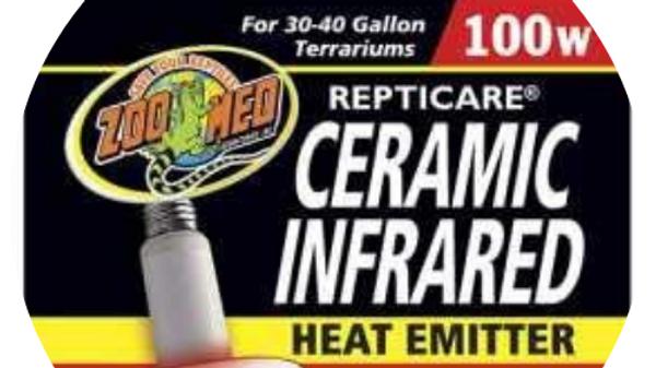 Zoo Med Repticare Ceramic Heat Emitter- 100w