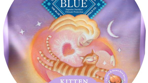 Blue Buffalo Healthy Growth Chicken & Brown Rice Kitten Food- 7lbs