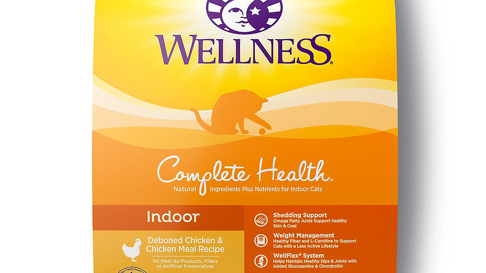 Wellness Indoor Adult Cat Food- 6 lbs