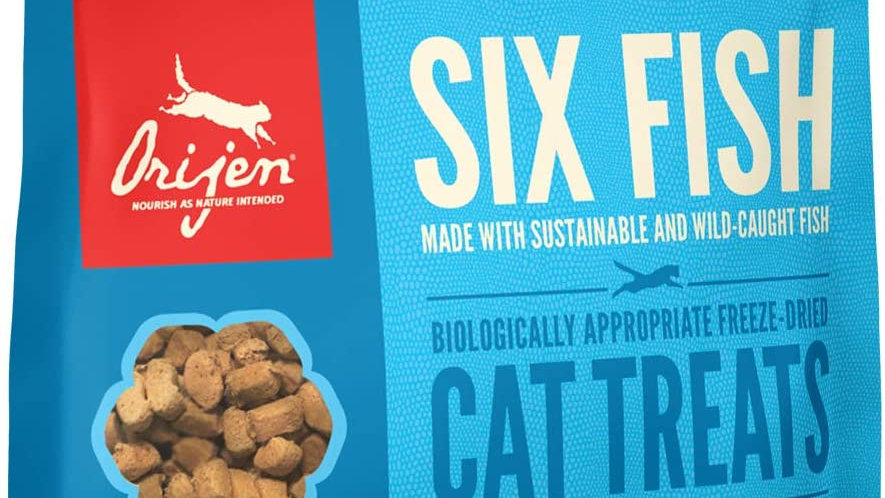 Orijen Six Fish Cat Treats