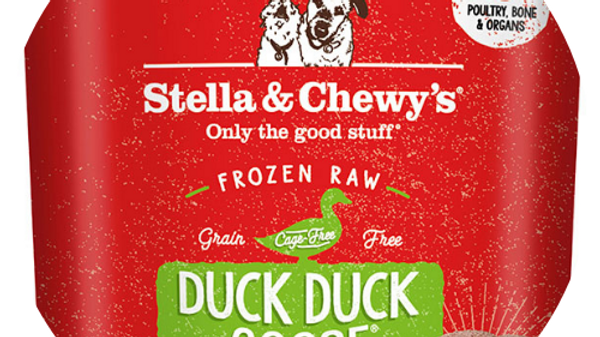 Stella and Chewy's Frozen Raw Duck/ Goose Patties- 6lbs