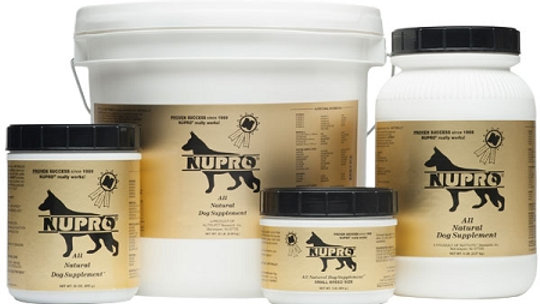 Nupro Dog Supplement- 20 lbs