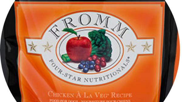 Fromm Chicken Ala Veg Dog Food -30 lbs.