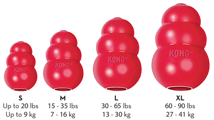 Kong Classic Dog Toy- L