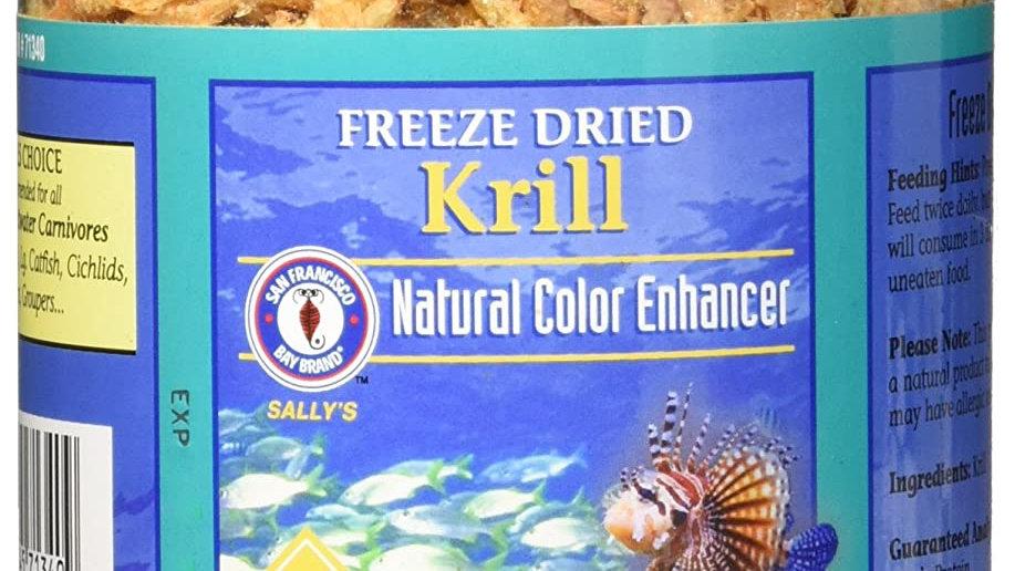 San Francisco Bay Brand Freeze Dried Krill- 4 oz