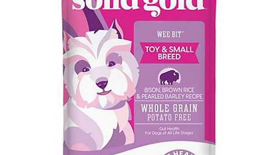 Solid Gold Dry Dog Food- Wee Bit- 4lbs
