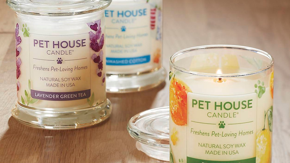 Pethouse Candle- Lavender and Green Tea
