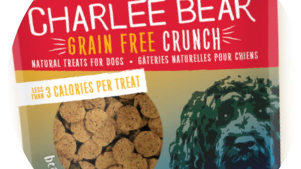 Charlee Bear Grain Free Dog Treats- Bacon and Blueberry