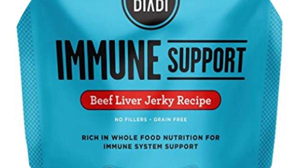 Bixbi Immune Suppoer Beef Liver Jerkey Treats for Dogs- 12 oz