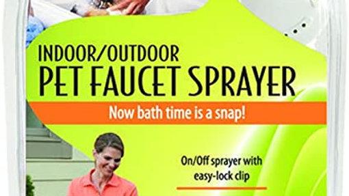 Rinse Ace Pet Shower Sprayer- Indoor/Outdoor