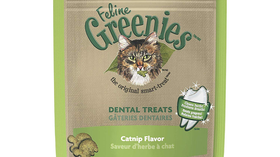 Feline Greenies Dental Treats- Catnip