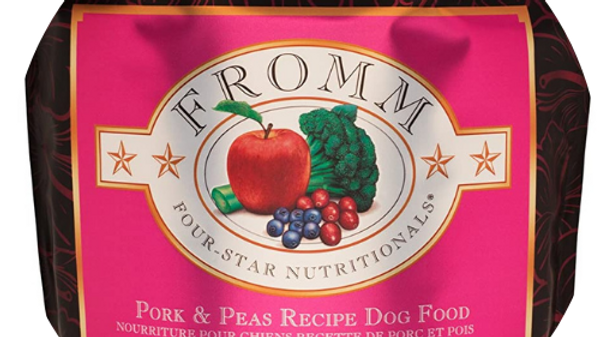 Fromm Pork and Peas Dog Food -26lbs