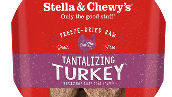 Stella and Chewy's Frozen Raw Turkey Patties- 6lbs