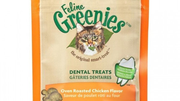 Feline Greenies Dental Treats- Chicken