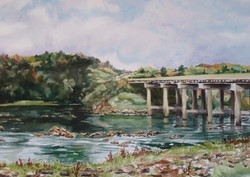 Catawba River Scene-Lookout Shoals