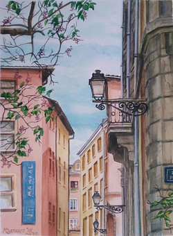Street in Lyon