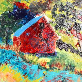 Artsy Little Barn