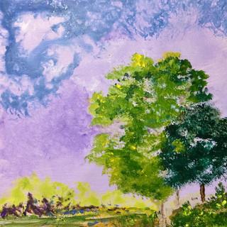 Lavender Blue Sky SOLD