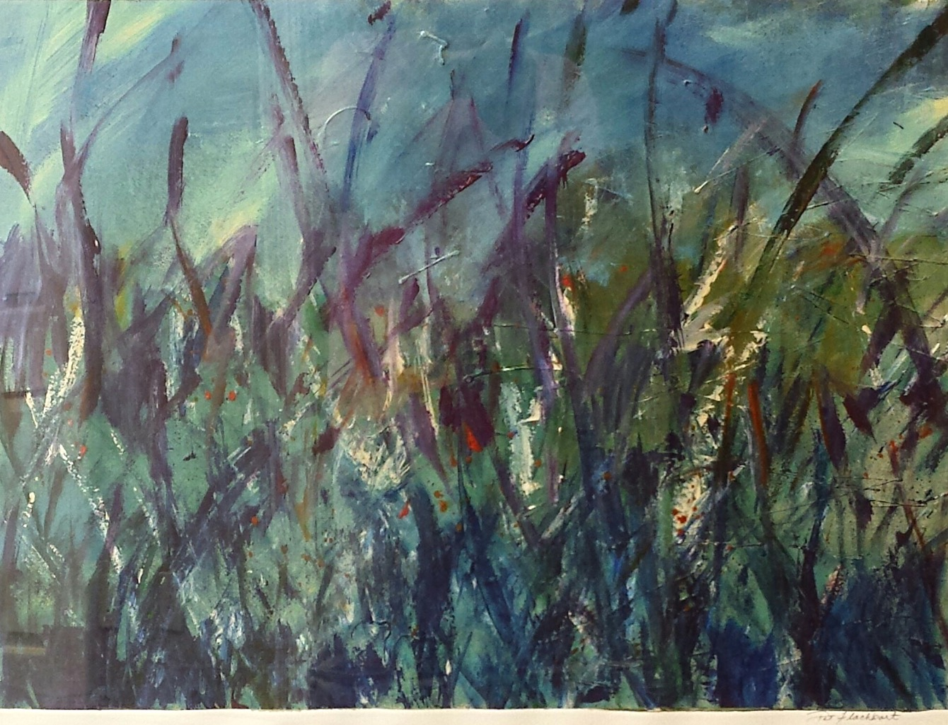 Stormy Seagrass