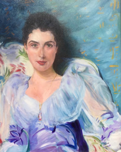 Lady Agnew (After Sargent)