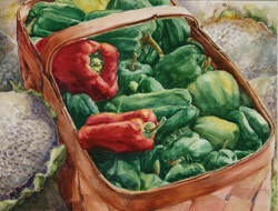 Basket of Peppers