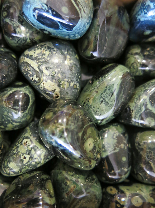 Kambaba Jasper Tumble Stone