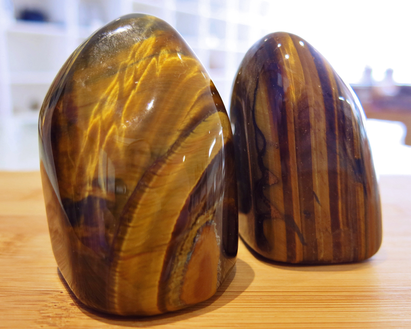Gold Tiger Eye Free form Carvings